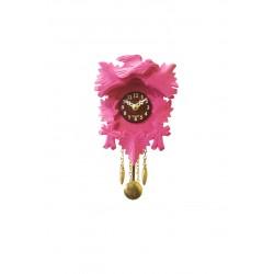 "Kuckucksuhr Traditionell Modell ""Mini"" - Pink"