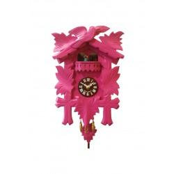 """Kuckucksuhr Traditionell Modell """"Tanzpaar"""" - pink"""