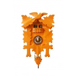 "Kuckucksuhr Traditionell Modell ""Tanzpaar"" - orange"