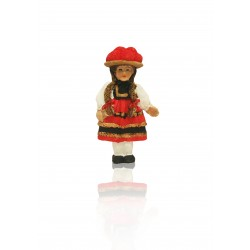 Magnet Bollenhutfrau